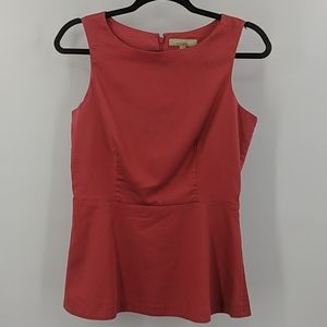 BANANA REPUBLIC Sleeveless Peplum Top
